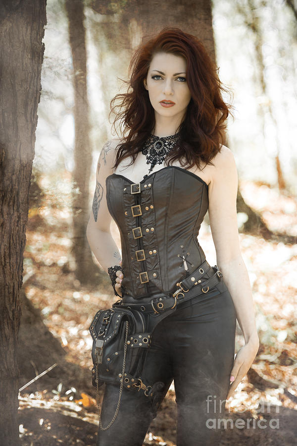 Sexy Steam Punk Photograph By Jt Photodesign-5345