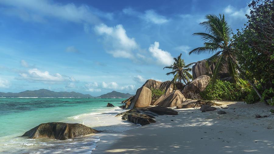 Seychelles Photograph - Seychelles La Digue by Dmitry Laudin