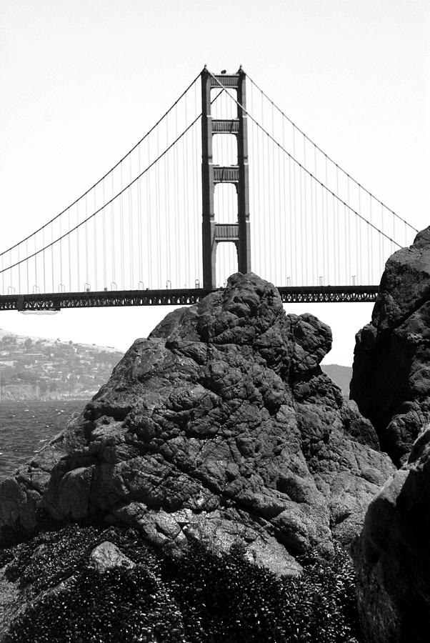 Golden Gate Photograph - S.f. Rock by Tom Melo