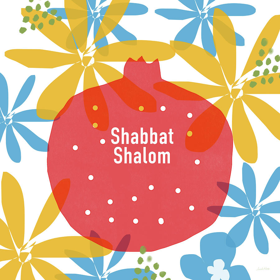 Shabbat shalom pomegranate art by linda woods mixed media by linda shabbat shalom mixed media shabbat shalom pomegranate art by linda woods by linda woods thecheapjerseys Image collections