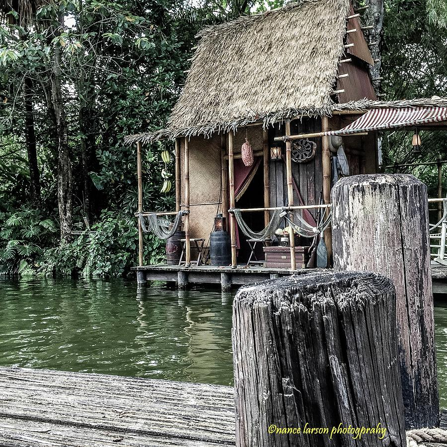 Shack in Jungle Cruise by Nance Larson
