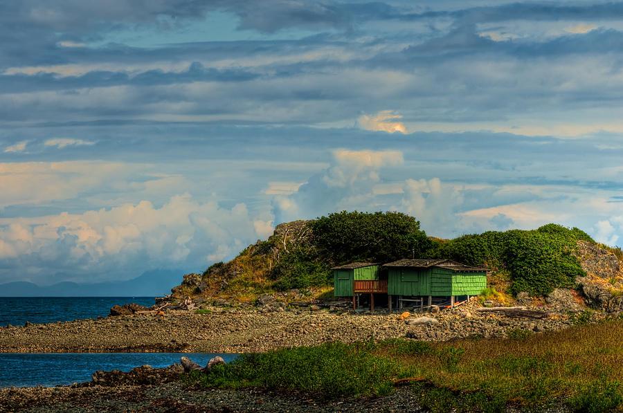 Beach Photograph - Shack Island by R J Ruppenthal