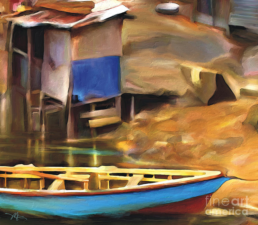 Impressionism Painting - Shada District by Bob Salo