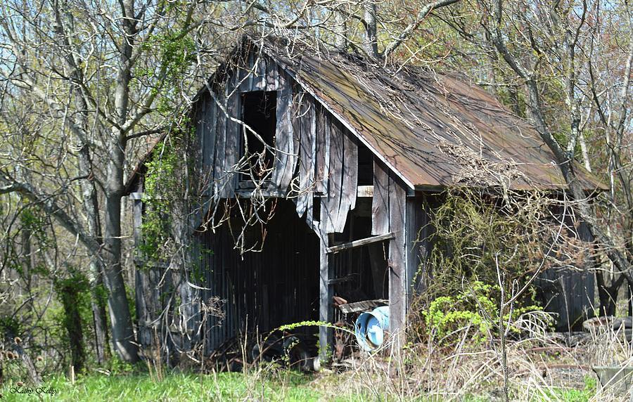 Barn Photograph - Shades Of Gray by Kathy Kelly