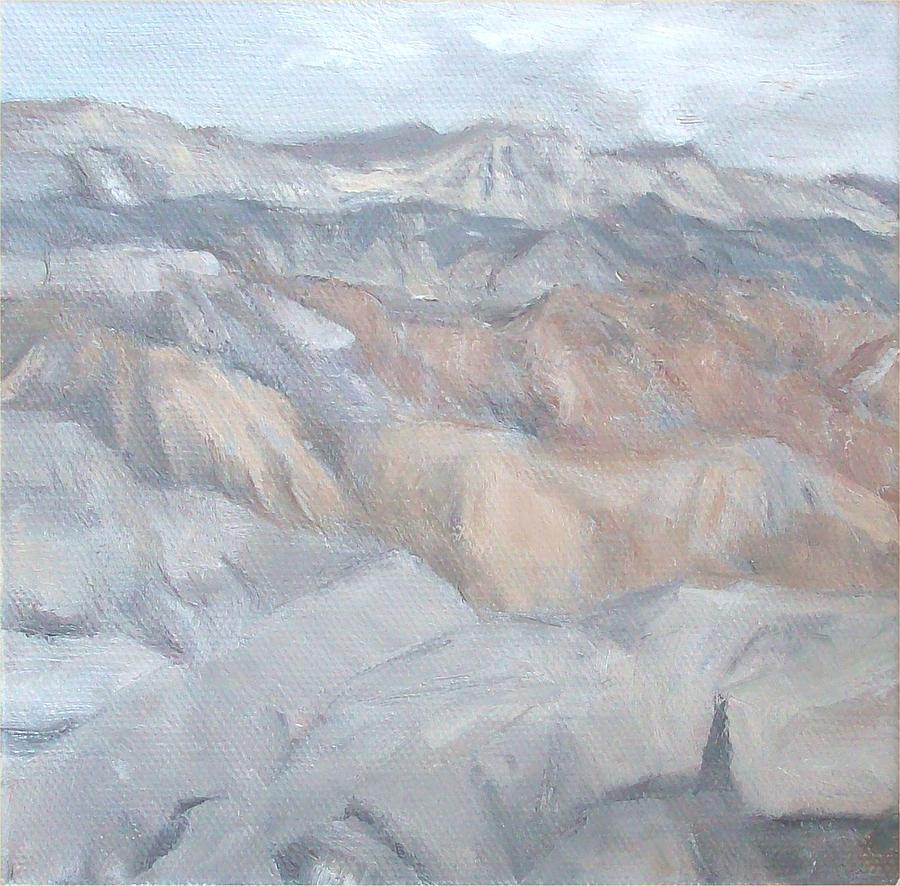 Borrego Springs Painting - Shades of Grey by Irene Corey