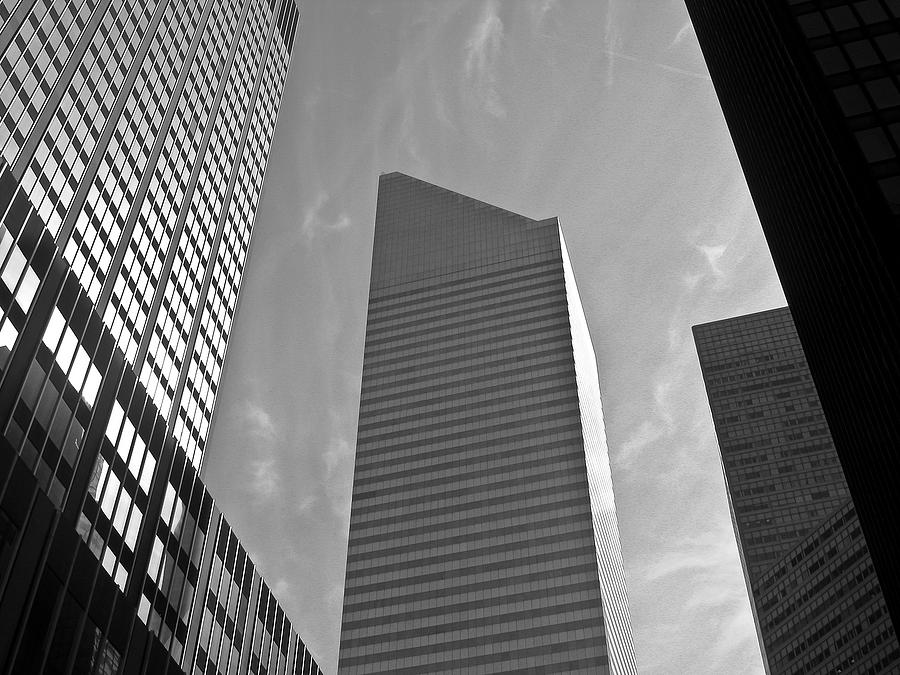 Cityscape Photograph - Shades Of The City by Fern Logan