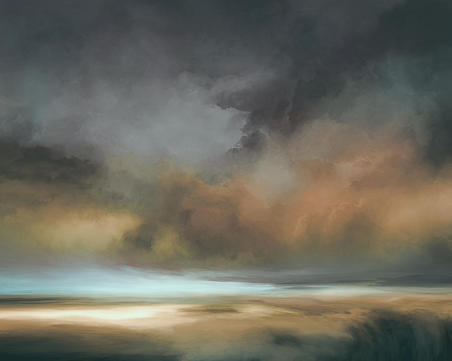 Atmosphere Mixed Media - Shades of Twilight by Lonnie Christopher