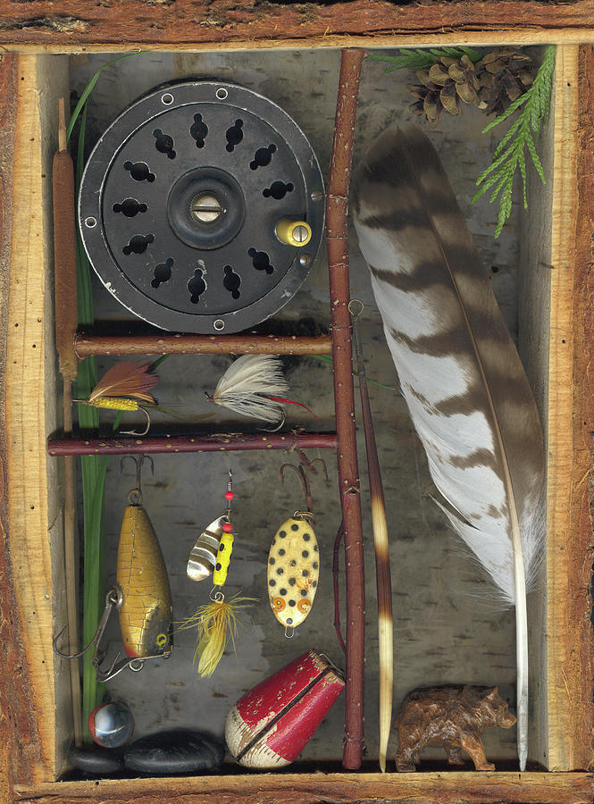 Shadow Box Mixed Media - Shadow Box A by Sandi F Hutchins