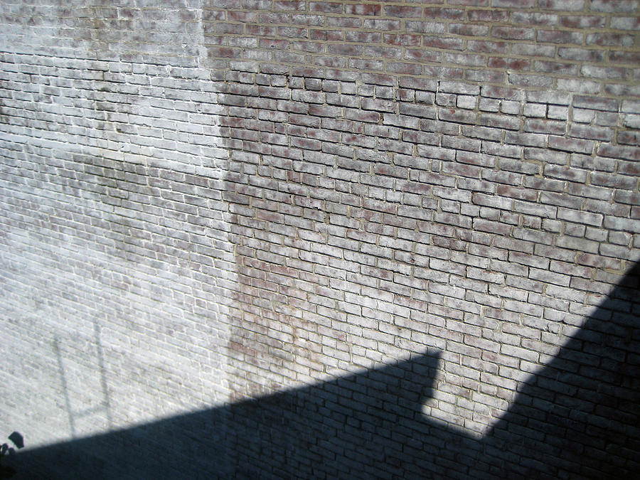 Brick Photograph - Shadow Brick by Sean Owens
