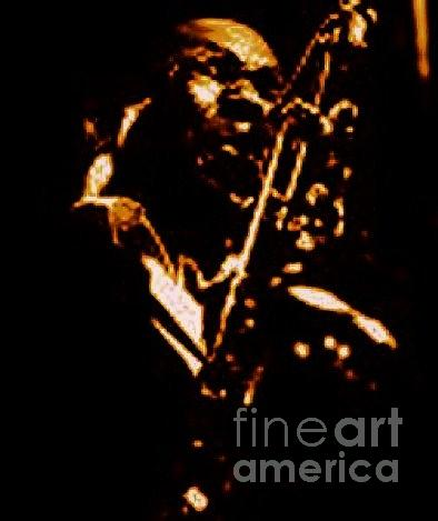 Shadow Of Coltrane Painting by Kevin E Taylor Sr  MFA
