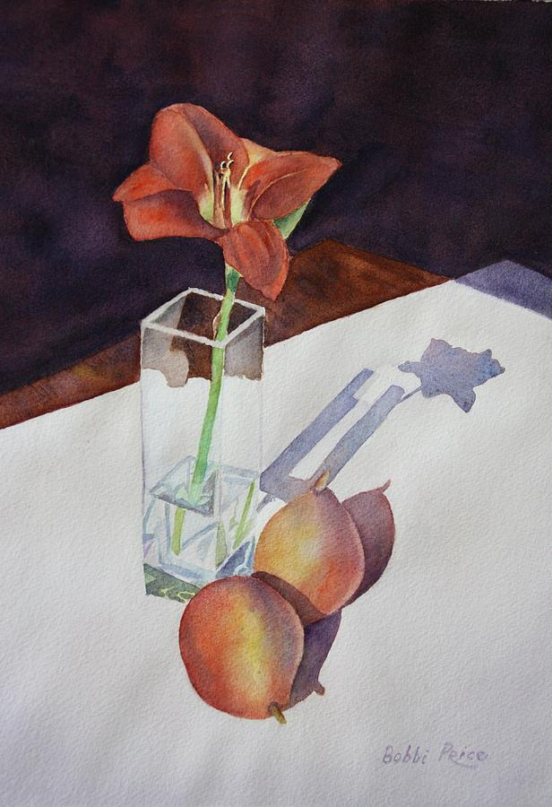Watercolor Painting - Shadow Play by Bobbi Price