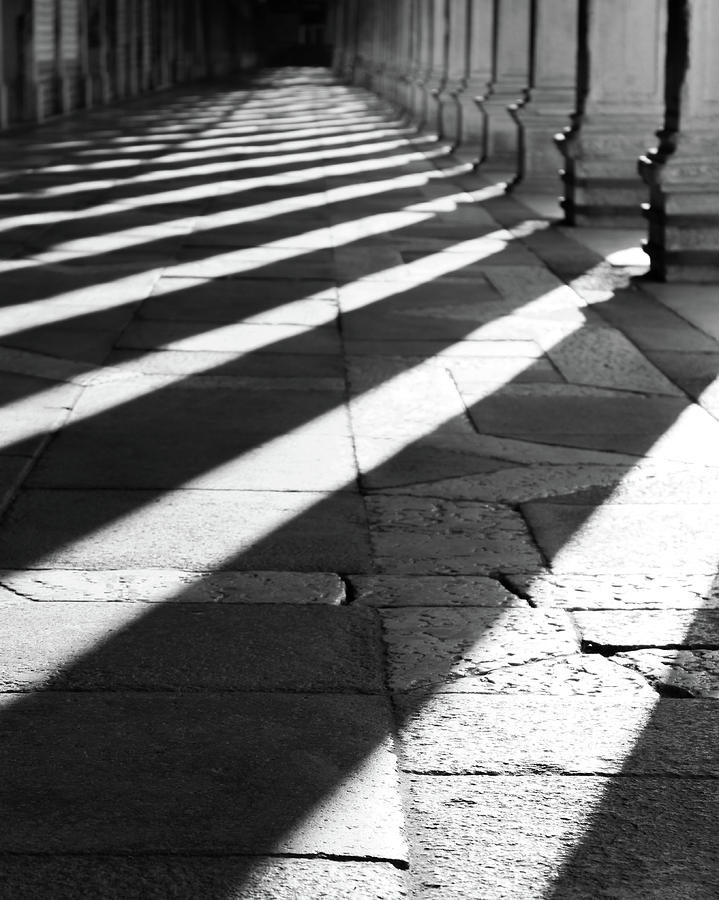 Vita Photograph - Shadow play - Venice, Italy by Dalibor Hanzal