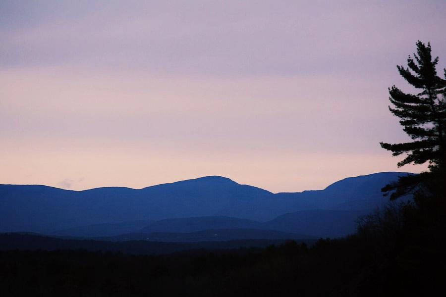 Landscape Photograph - Shadowed Valleys by Stephanie Varner