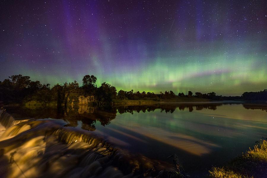 Aurora Photograph - Shadowman 3  by Aaron J Groen