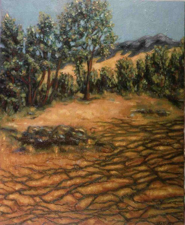 Trees Painting - Shadows by Helen O Hara