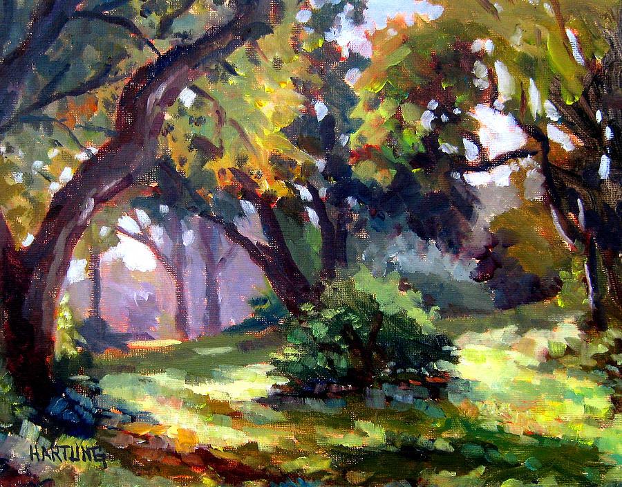 South Florida Painting - Shadows by Mark Hartung