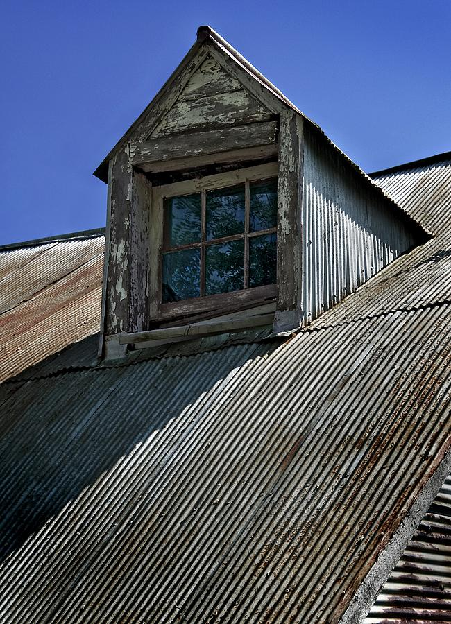 Rustic Photograph - Shadows Reflections And Lines by Murray Bloom