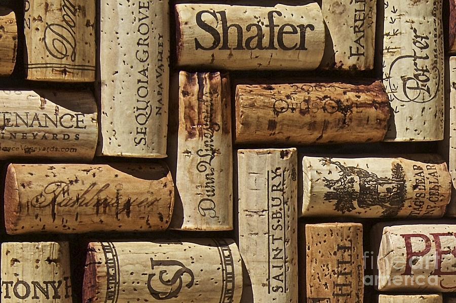 Wine Cellar Photograph - Shafer Wine by Anthony Jones