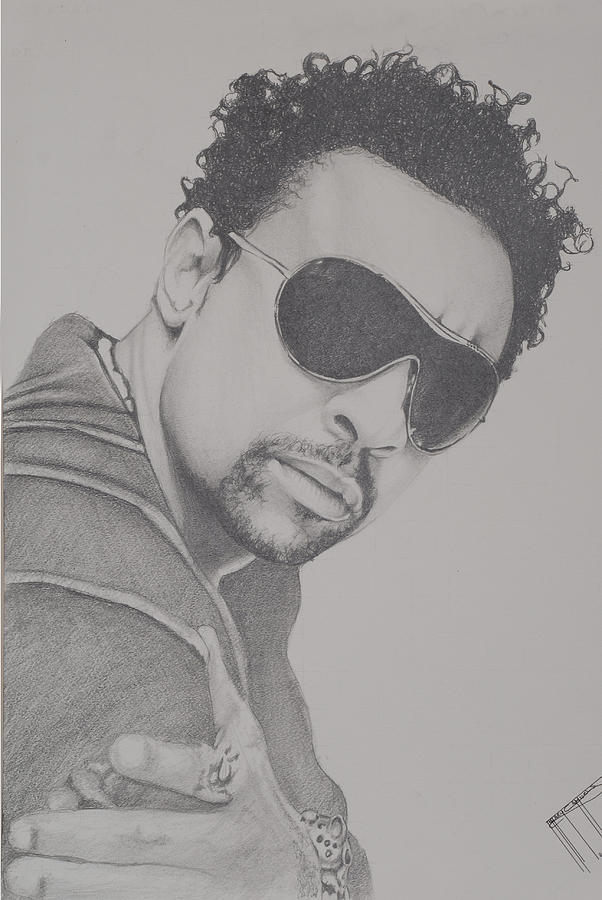 Celebrity Drawing Drawing - Shaggy by Jeffrey Samuels