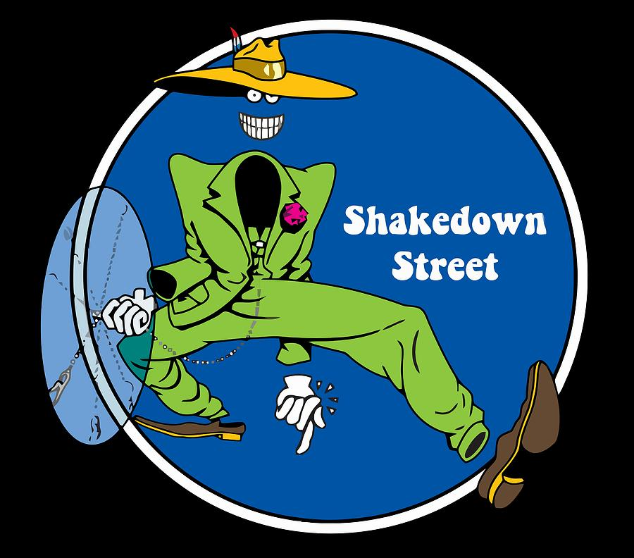 Ice Cream Digital Art - Shakedown Street by Eran Habusha