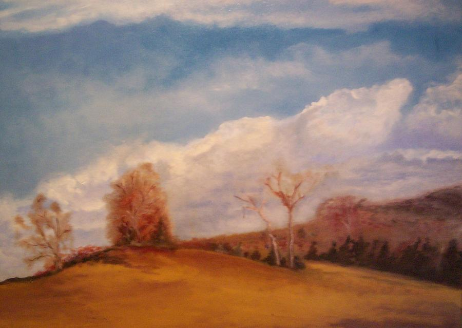 Nature Painting - Shakertown 1 by Karen Thompson