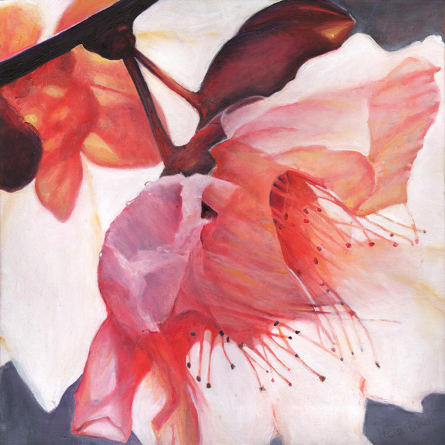 Floral Painting - Shakti dance by Helen White