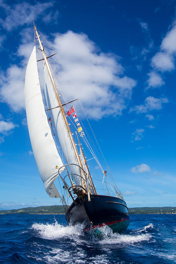 Vieques Photograph - Shalamar Classic Sailboat #2 by Karl Alexander