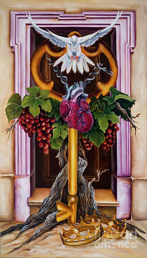 Dove Painting - Shama by Ilse Kleyn