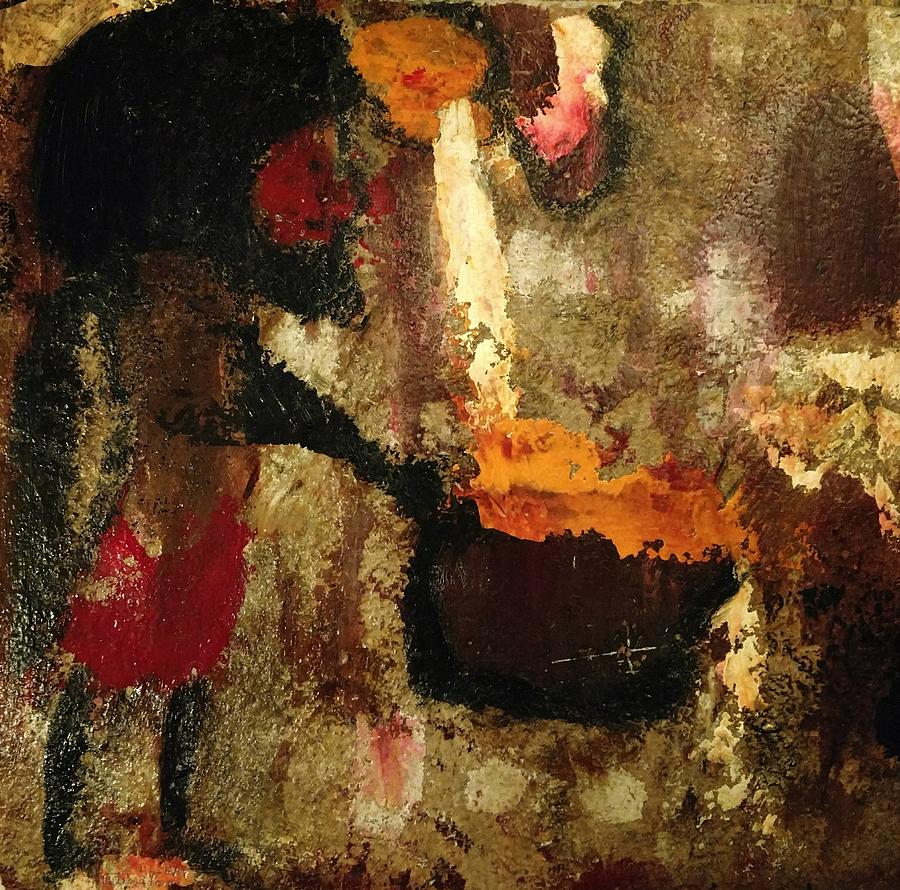 Shaman Painting - Shaman Alchemist by Edward Longo