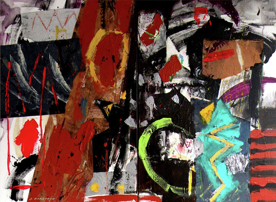 Shaman Painting - Shaman Journey by Janis Kirstein