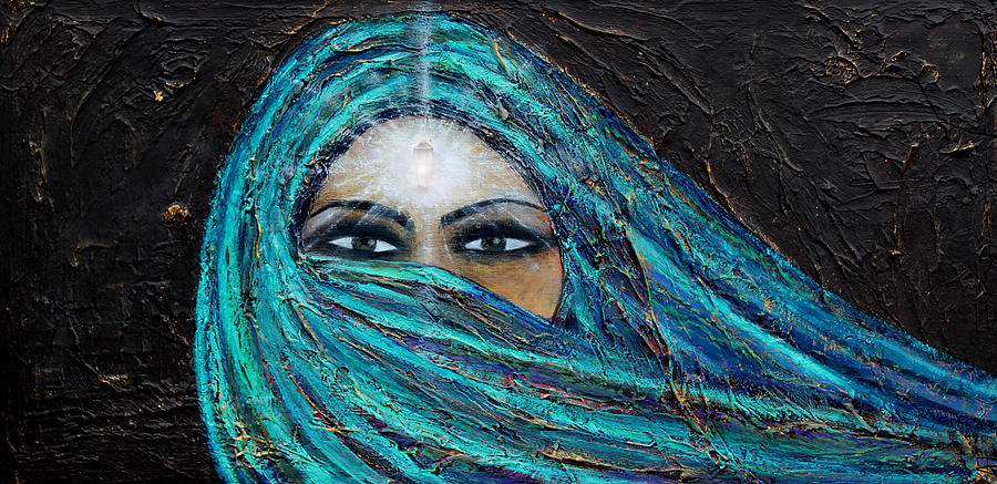 Mystic Painting - Shambala by NARI - Mother Earth Spirit