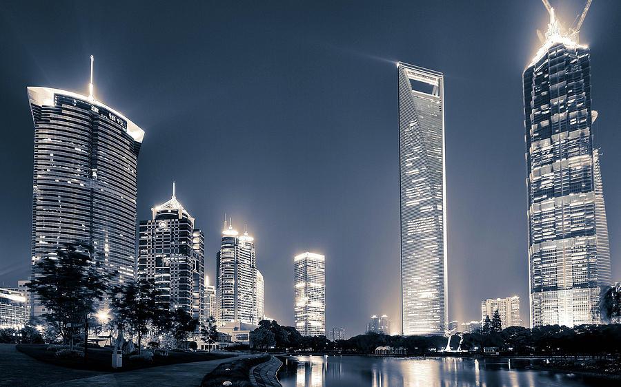 Shanghai Digital Art - Shanghai by Dorothy Binder