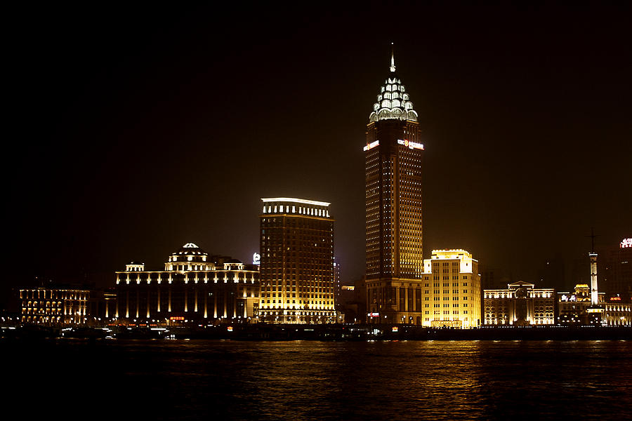 Architecture Photograph - Shanghais Bund Is Back To Its Best by Christine Till