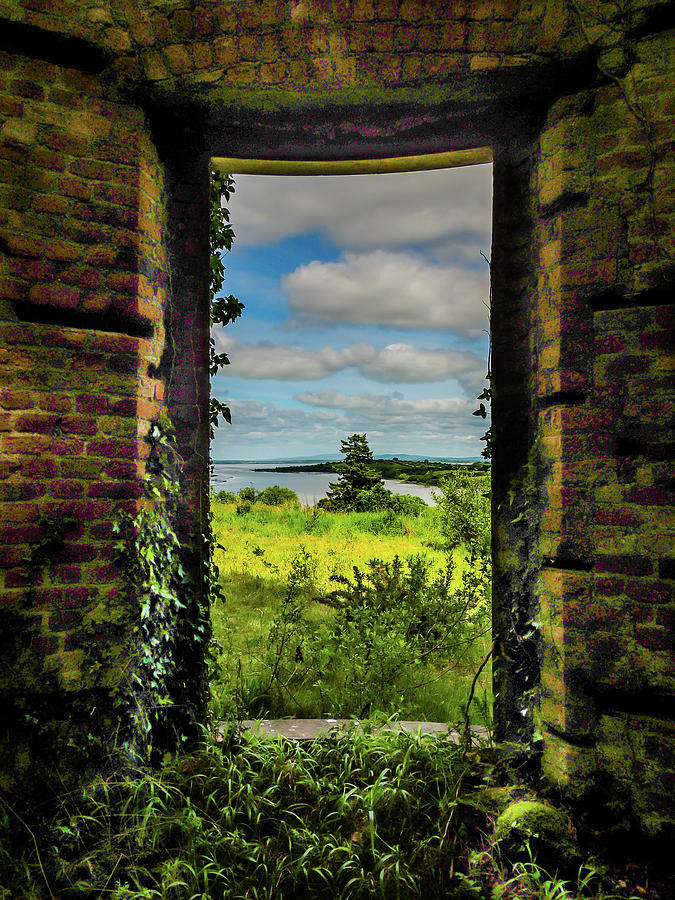 Ireland Photograph - Shannon Estuary From Abandoned Paradise House by James Truett