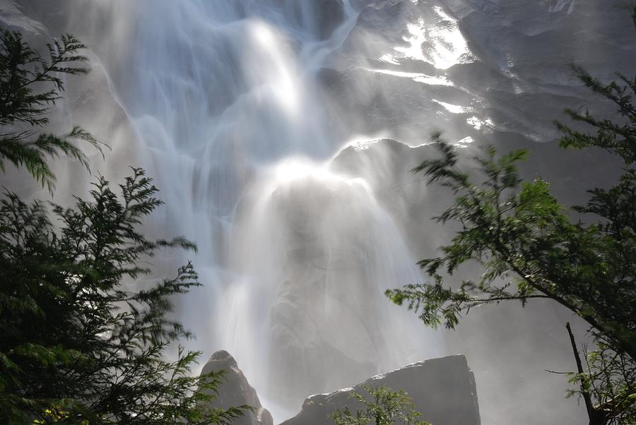 Waterfall Photograph - Shannon Falls by Adrian Brown
