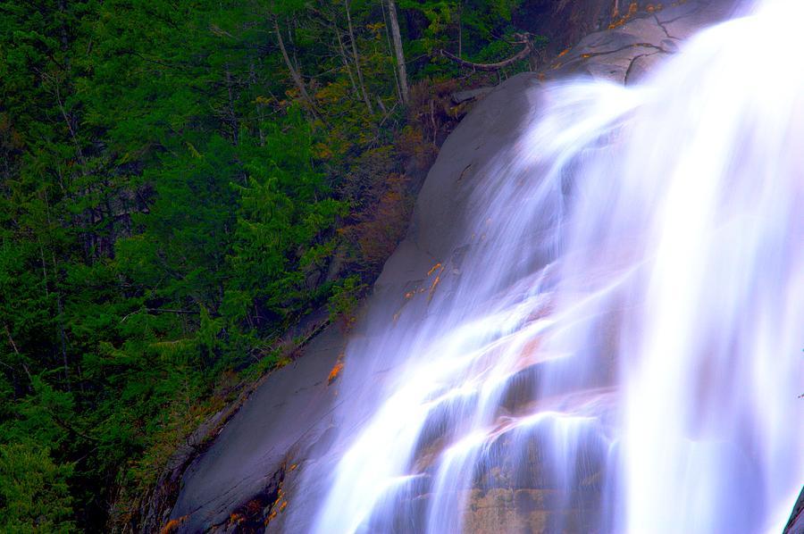 Waterfall Photograph - Shannon Falls by Paul Kloschinsky