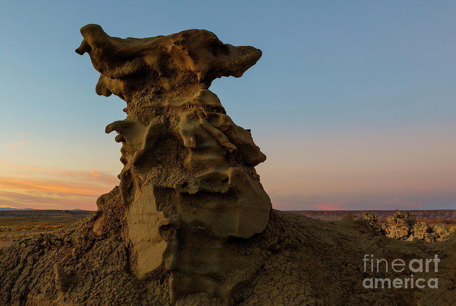 Fantasy Canyon Photograph - Shaped by the Wind by Mike Dawson