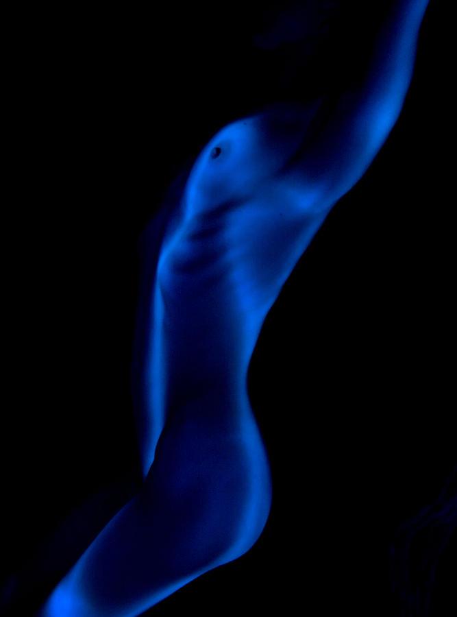 Female Photograph - Shapes 3 by Sergio Bondioni
