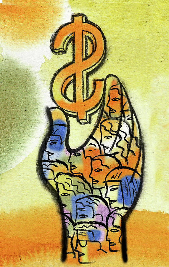 Shareholder Painting by Leon Zernitsky