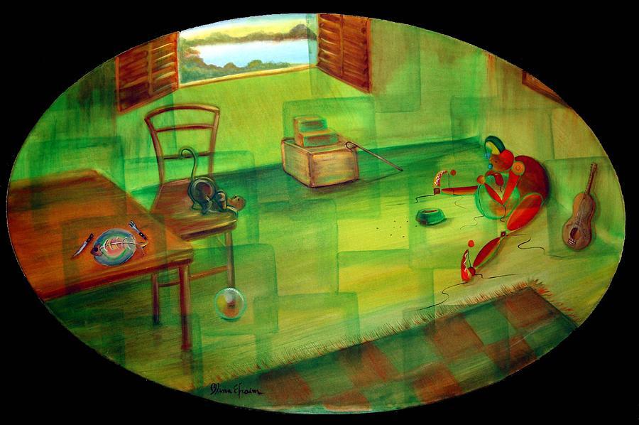 Fantasy Painting - Sharing by Blima Efraim