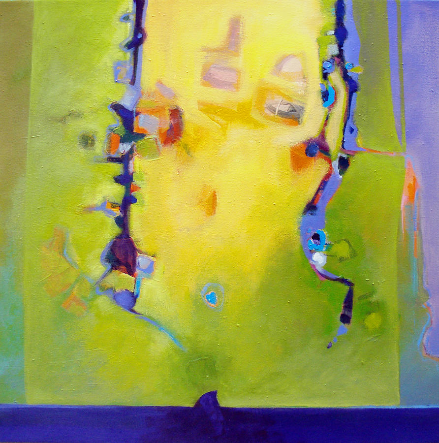 Abstract Painting - Sharks Teeth by Dale  Witherow