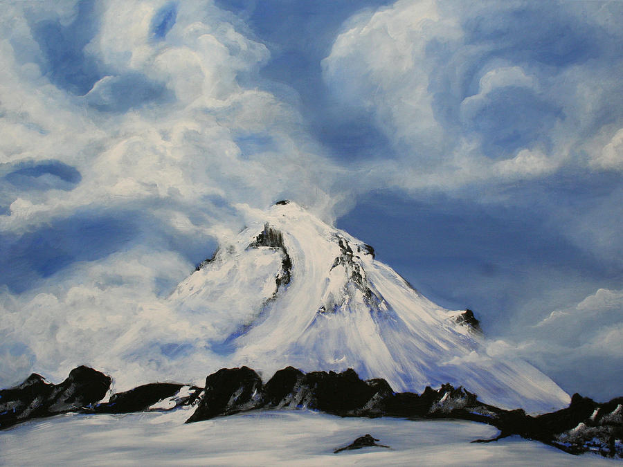Shasta Painting - Shasta by Bonnie Kelso