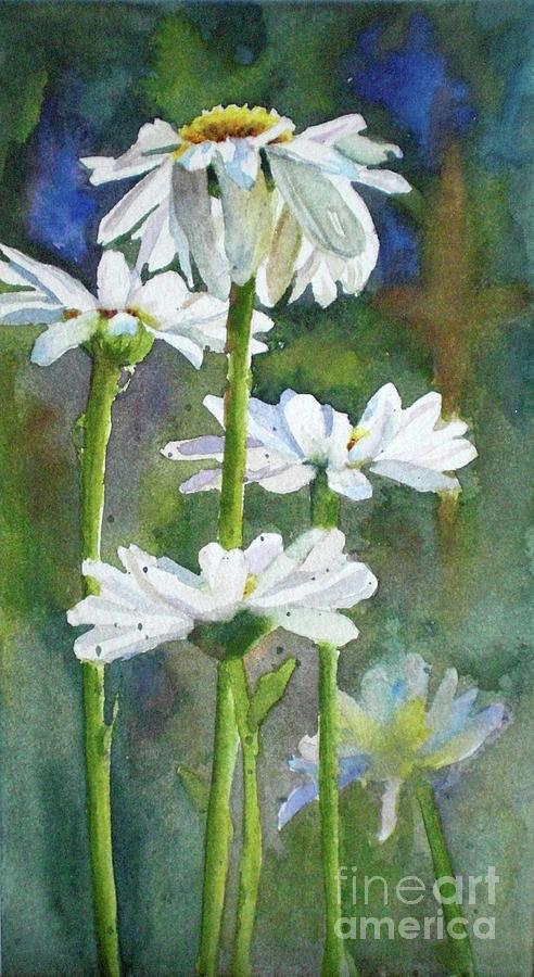 Shasta Daisies Painting - Shasta Daisies by Bonnie Rinier
