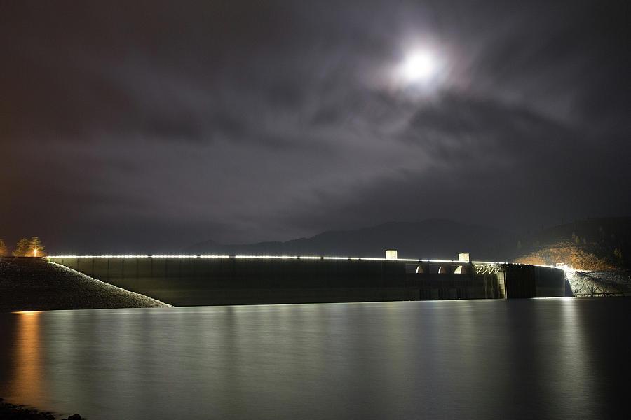 California Photograph - Shasta Damn by Digiblocks Photography
