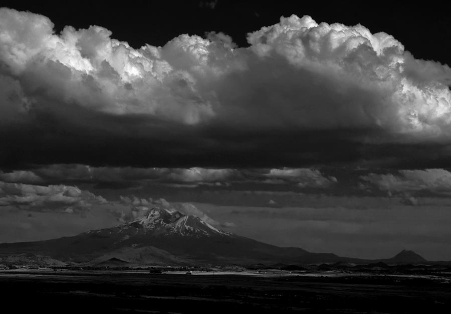 Shasta on July 17 by John Norman Stewart