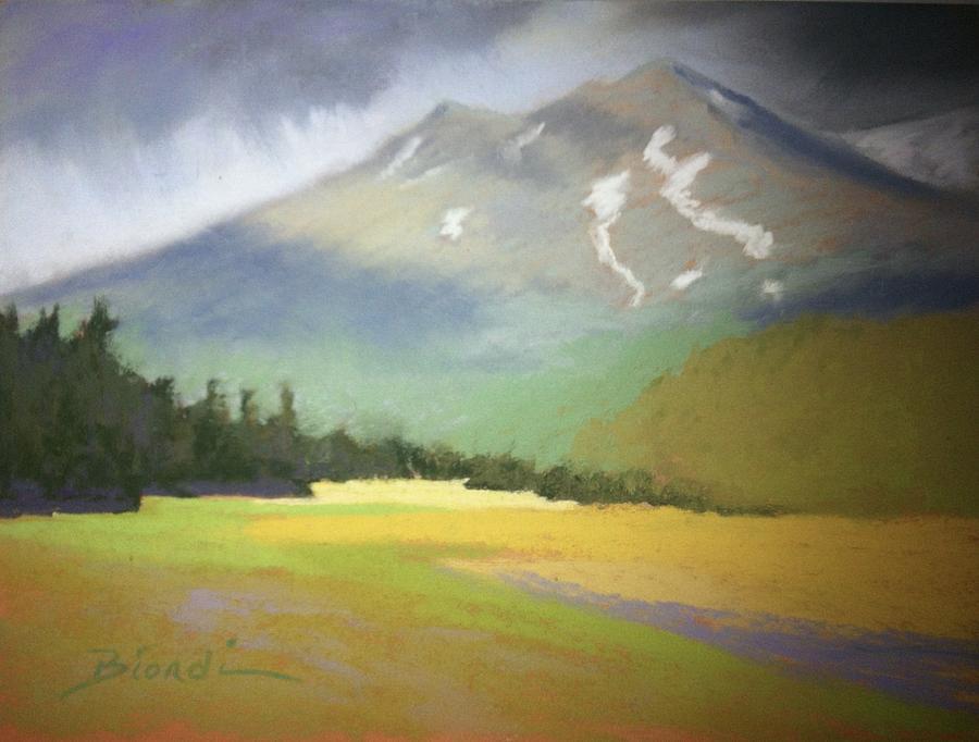 Shasta Painting - Shasta View II by Janet Biondi