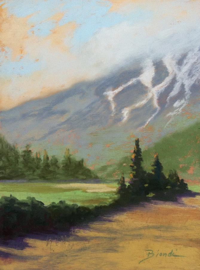 Shasta Painting - Shasta View by Janet Biondi