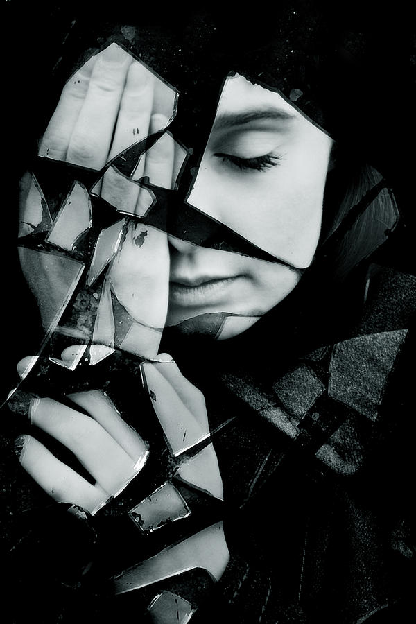 Shattered Photograph - Shattered by Cambion Art