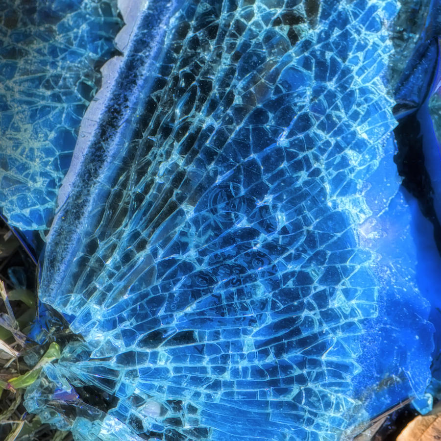 Shattered Photograph - Shattered I by Paula Barrickman