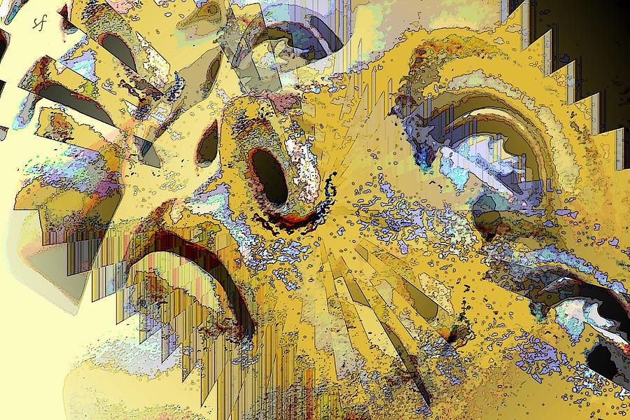 Emotional Digital Art - Shattered Illusions by Shelli Fitzpatrick